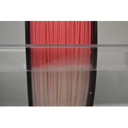 ABS - Filament 1,75mm thermosensitiv rot/weiss