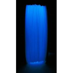 ABS - Filament 1,75mm nachleuchtend blau