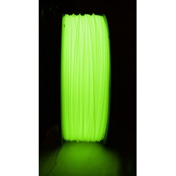 ABS - Filament 1,75mm nachleuchtend gelb